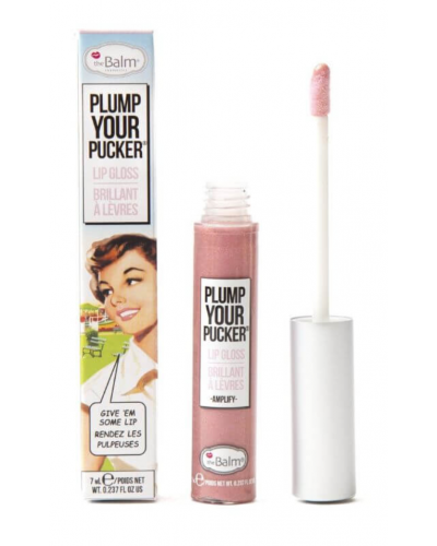 Plump Your Pucker Lip Gloss - Amplify