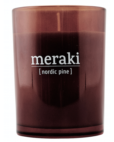 Scented Candle Nordic Pine