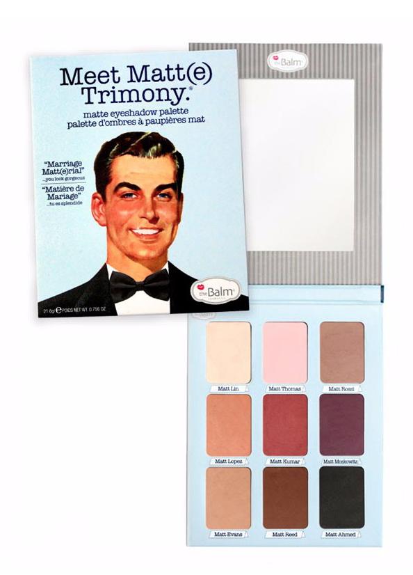 Meet Matte Trimony Eyeshadow Palette