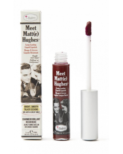 Meet Matte Hughes Liquid Lipstick - Trustworthy