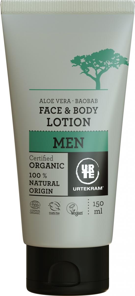 MEN Face & Bodylotion Aloe Vera & Baobab Øko