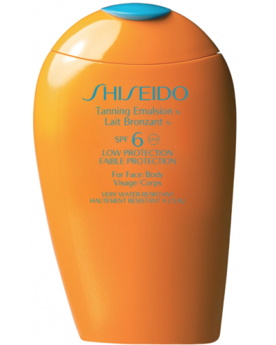 Tanning emulsion for face and body spf 6