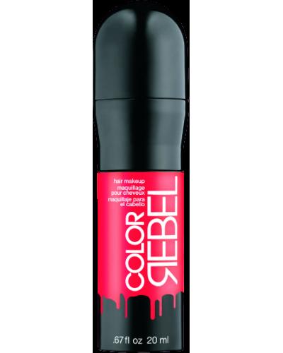 Color Rebel Hair Makeup Coral