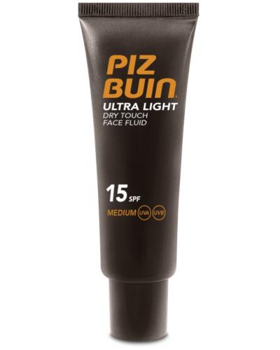 Ultra Light Dry Touch Face Fluid SPF15