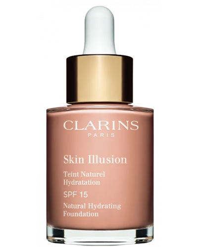 SKIN ILLUSION teint naturel hydratation #107-beige