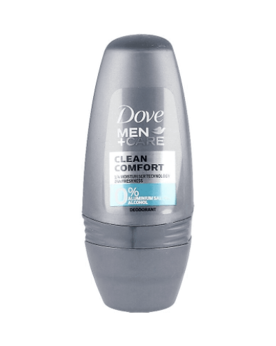 MEN CLEAN COMFORT 0% aluminium deo roll-on 50 ml