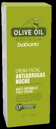 Olive Oil Anti Wrinkle Night Face Cream