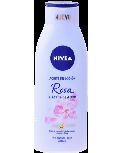 Aceite Locion Rosa & Argan 400 ml - Body Cosmet