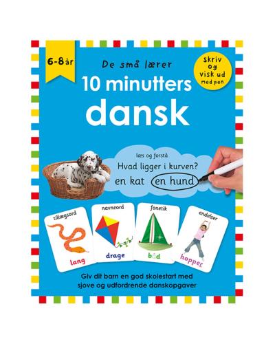 De små lærer - Skriv og visk ud - 10 minutters dansk