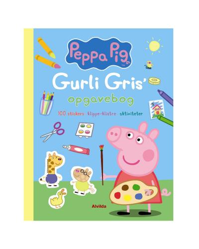 Gurli Gris opgavebog