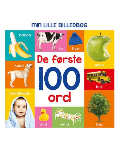 Min lille billedbog - De første 100 ord