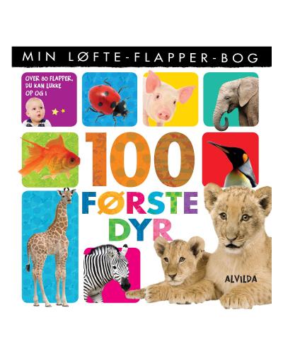 Min løfte-flapper-bog - 100 første dyr