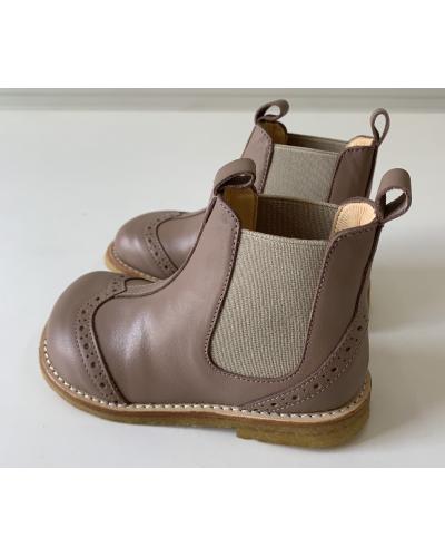 Støvle m. elastik - Makeup/Beige