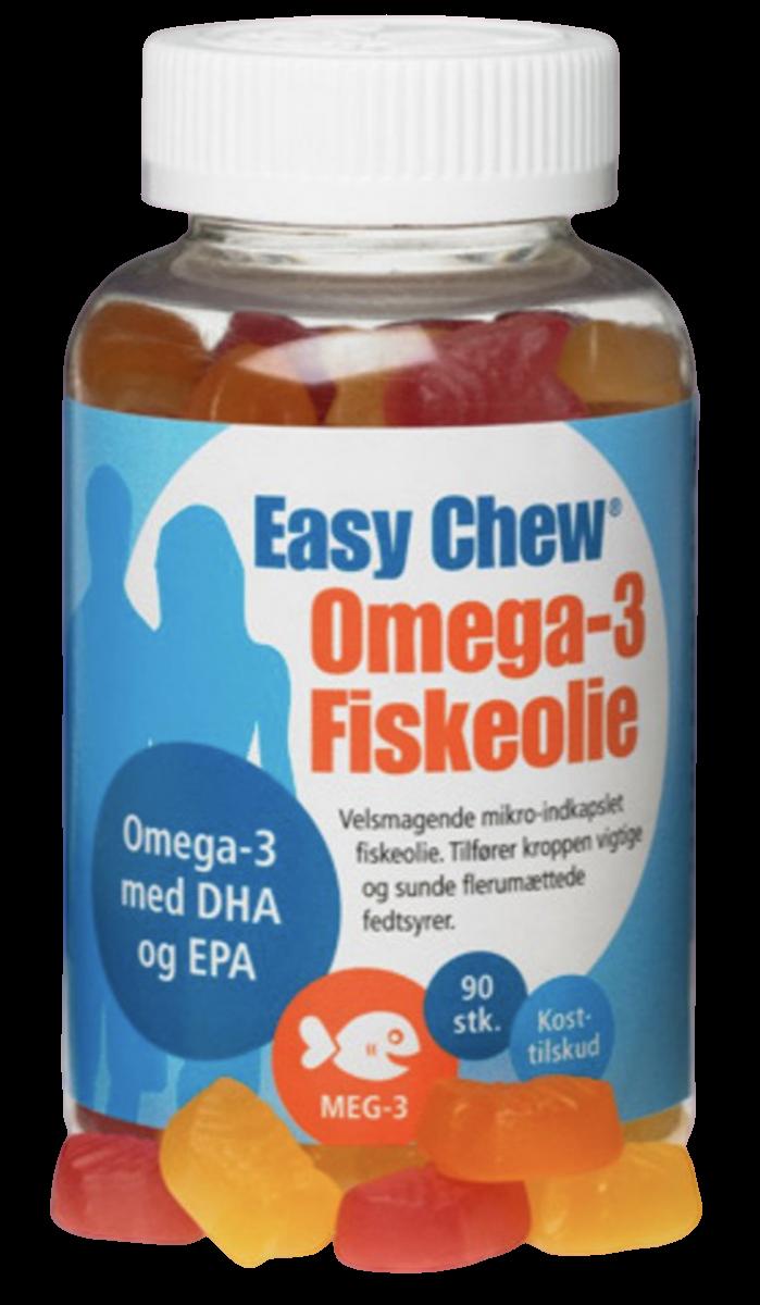 Easy Chew Omega-3 Fiskeolie
