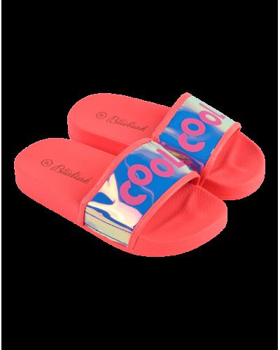 Billieblush Aqua Slides Klip Klappere Pink
