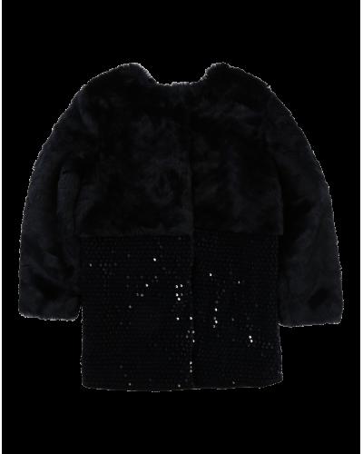 Billieblush Jakke Fake Fur/Palietter
