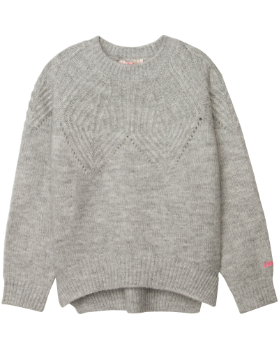 Jumper Pullover Chine Grey