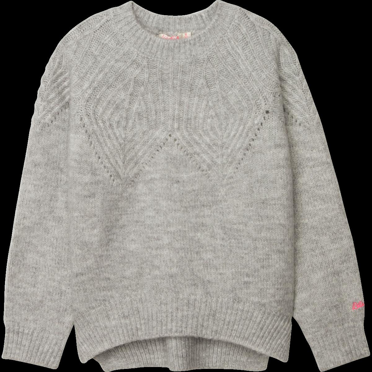 Jumper Pullover Chine Grey