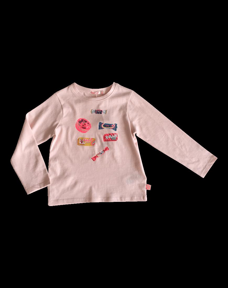 Pink Bluse Slik