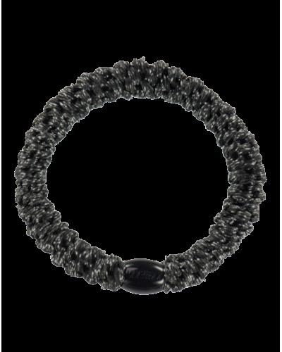 Hårelastik Black Glitter