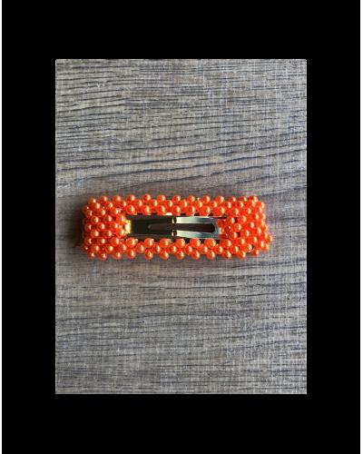 Bow's By Stær Perlespænde Sofia Orange
