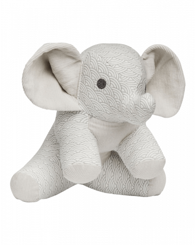 Elefant Bamse Grey Wave
