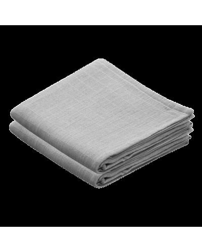 Stofbleer Grey 2-pakke