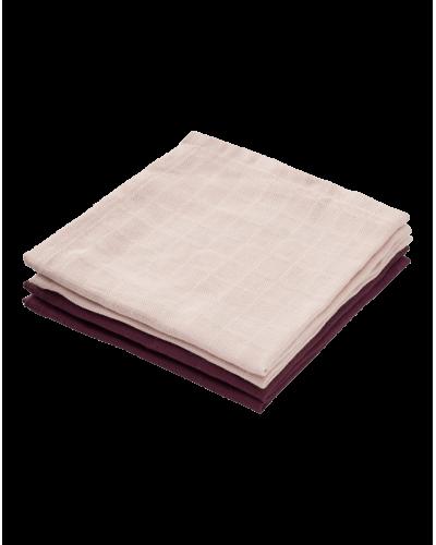 Vaskeklude Blossom Pink/Bordeaux