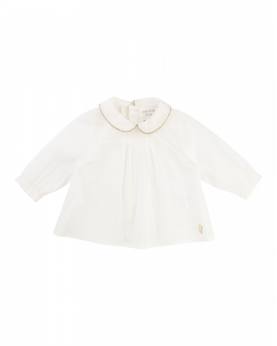 Bluse Winter Bebe Off White