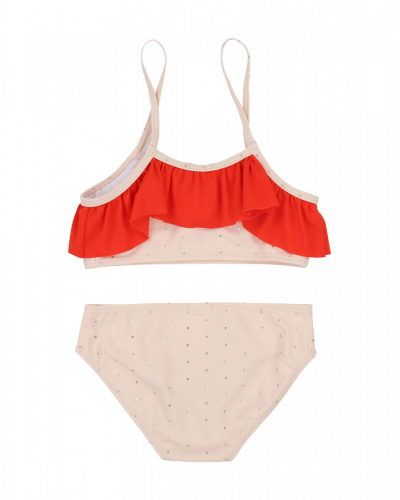 Carrement Beau Bikini Pink/Rød