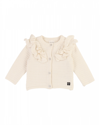 Carrement Beau Strik Cardigan Ivory