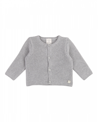 Carrement Beau Strik Cardigan Light Grey