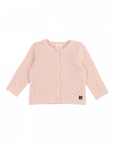 Carrement Beau Strik Cardigan Pink Pale