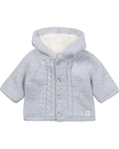 Knitted Jacket Light Gray China