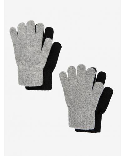 Handsker 2-pakke Grå