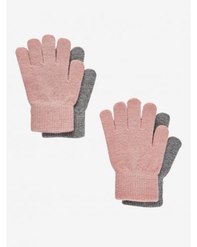 Handsker 2-pakke Misty Rose