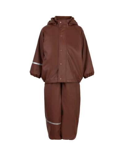 Rainwear Set - Solid w/fleece Rocky Road
