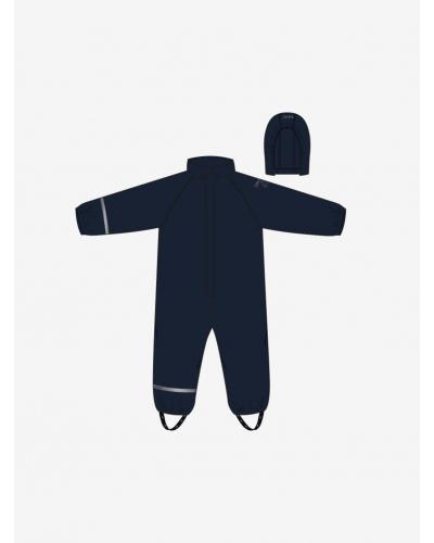 Rainwear Suit - Solid w/fleece Navy