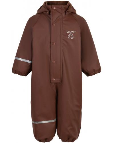 Rainwear Suit - Solid w/fleece Rocky Road