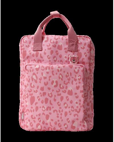 Eef Lillemor Taske Dyreprint Stor Pink