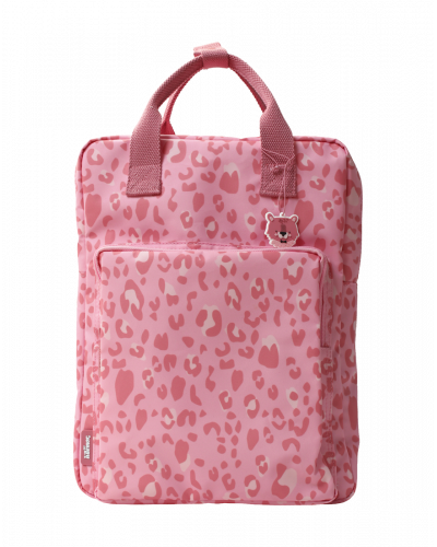 Taske Dyreprint Stor Pink