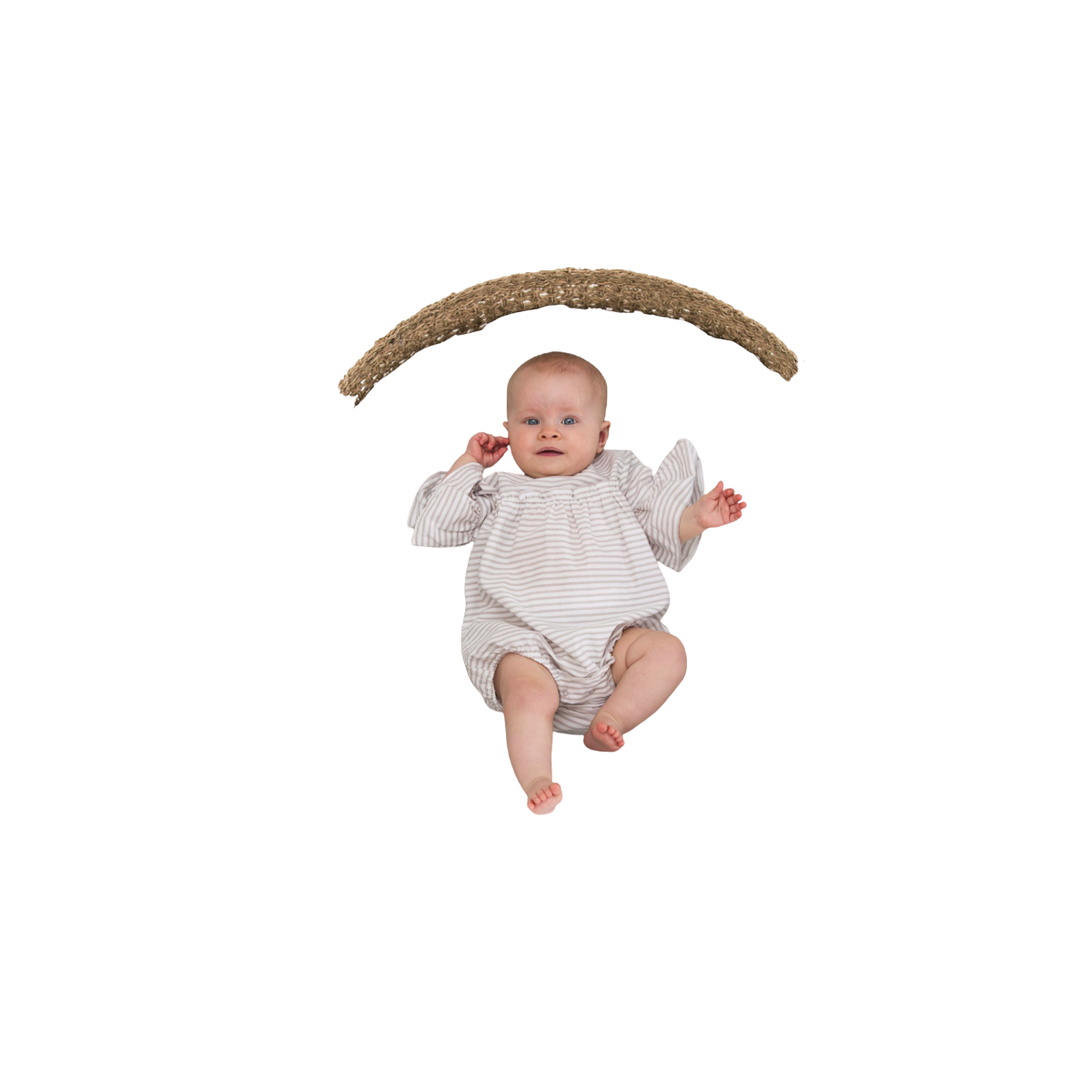 Lotus Romper Warm Sand