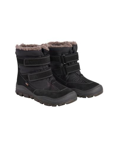 Støvler Velcro Tex Sort