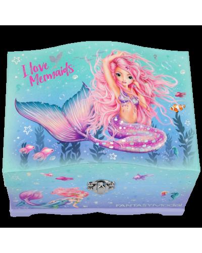 Fantasy Smykkeskrin m/LED Mermaid