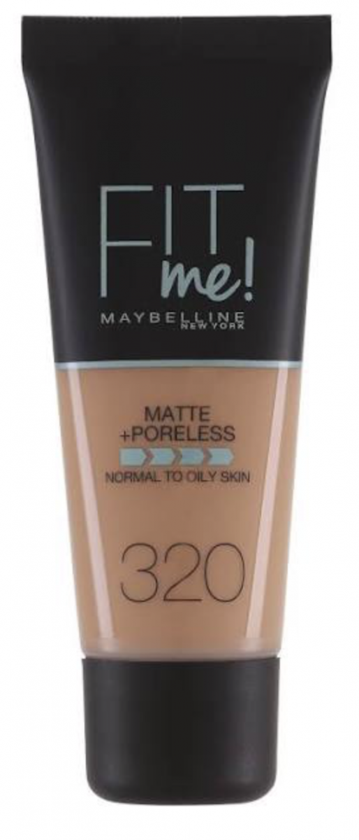 Fit Me Matte + Poreless Foundation - 320 Natural T
