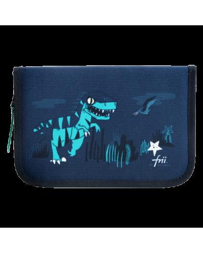 penalhus dinosaur blå/grøn