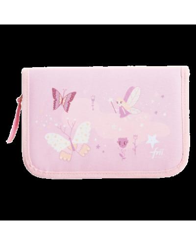 penalhus sommerfugle pink/peach