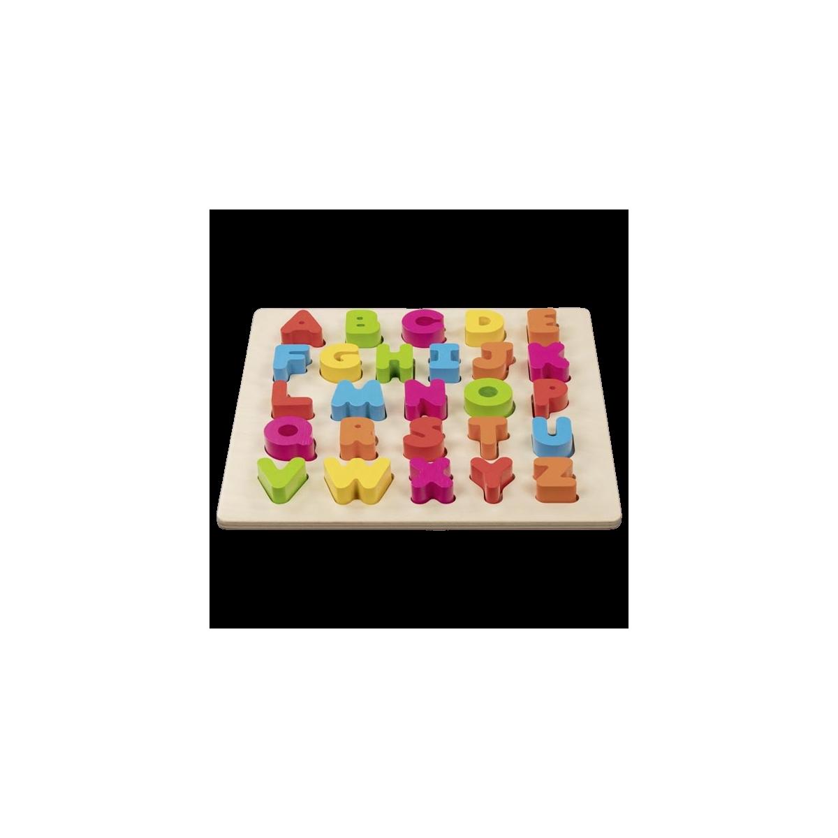 Alfabet Puslespil 3D