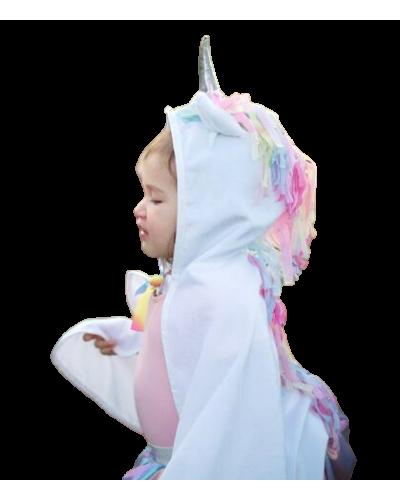 Baby Kappe Unicorn, Hvid