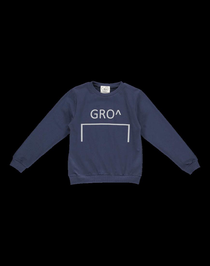 Gro Mads Sweatshirt Stone Navy